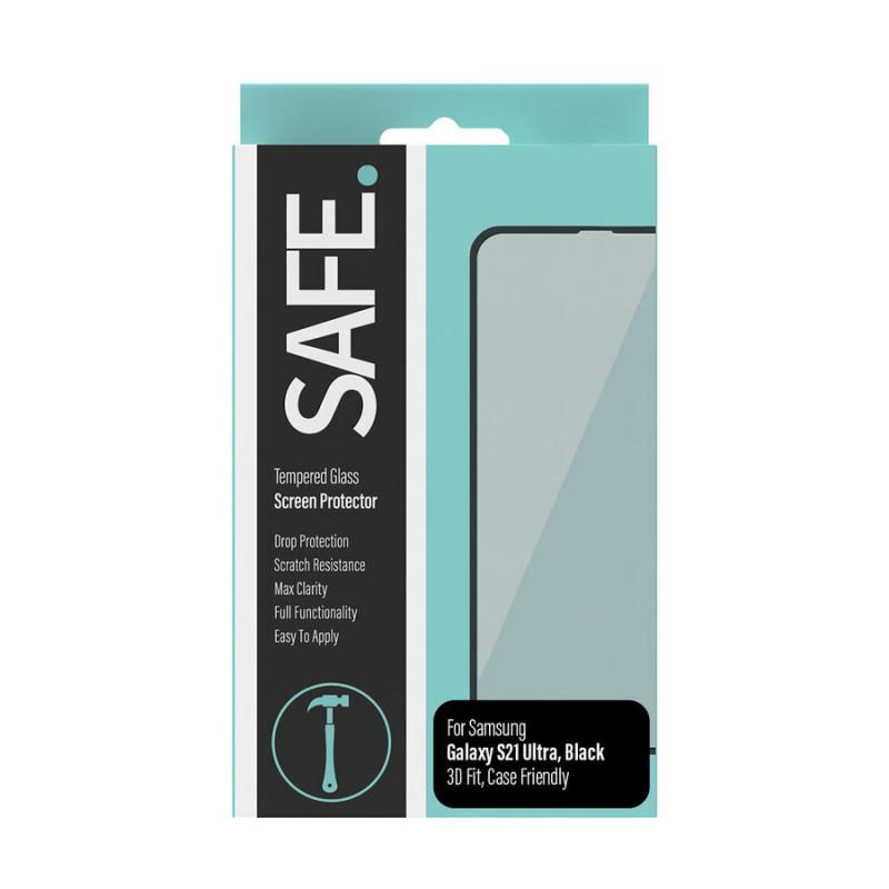 Стъклен протектор Safe. за Samsung Galaxy S21 Ultr...