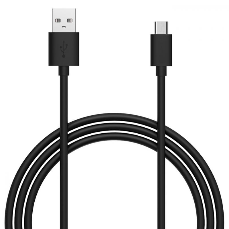 Дата кабел Teracell Micro USB 2A 1m. черен...
