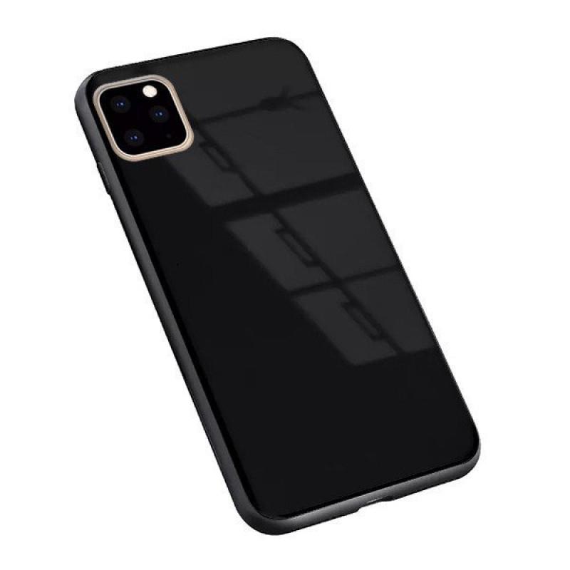 """Гръб GLASS за Iphone 11 Pro 5,8"""" - Черен..."""
