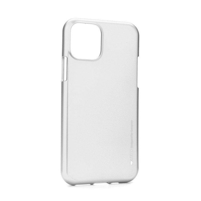 Гръб i-Jelly Mercury за Iphone 11 6.1 - Сребрист...