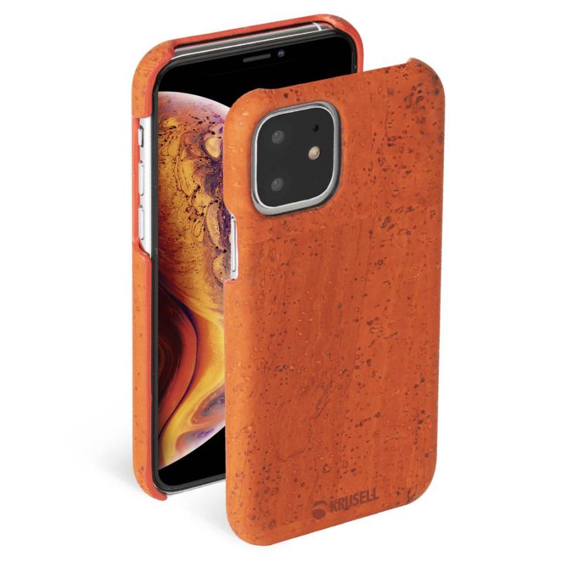 Гръб Krusell Birka Cover за Iphone 11 - Rust