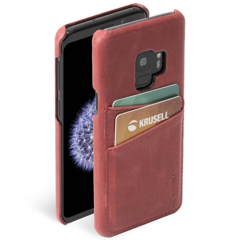 Гръб Krusell Sunne 2 Card Cover естествена кожа за...