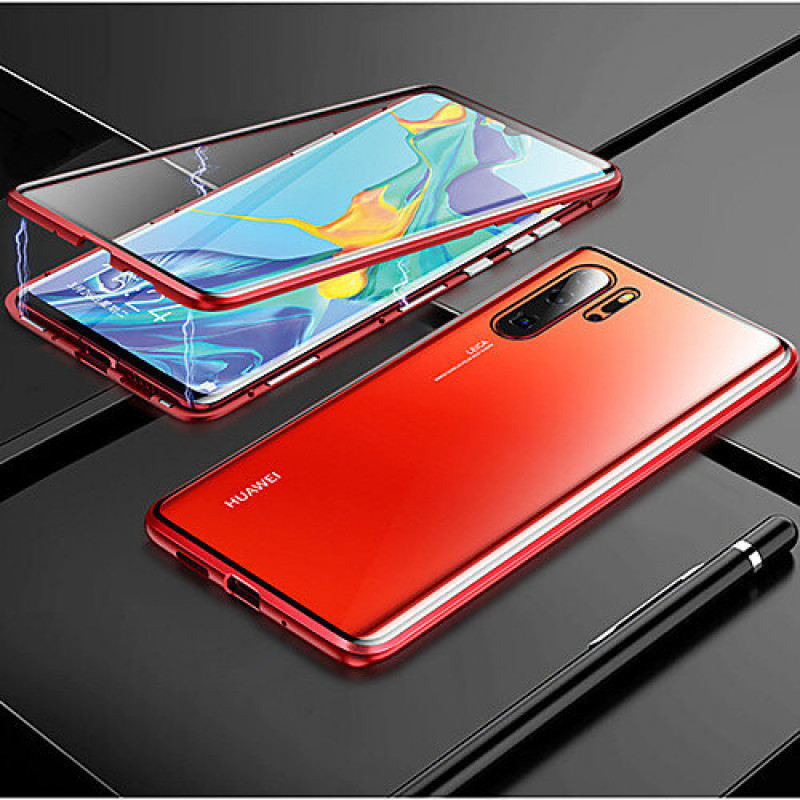 Гръб MAGNETO за Huawei P30 Pro - Червен...