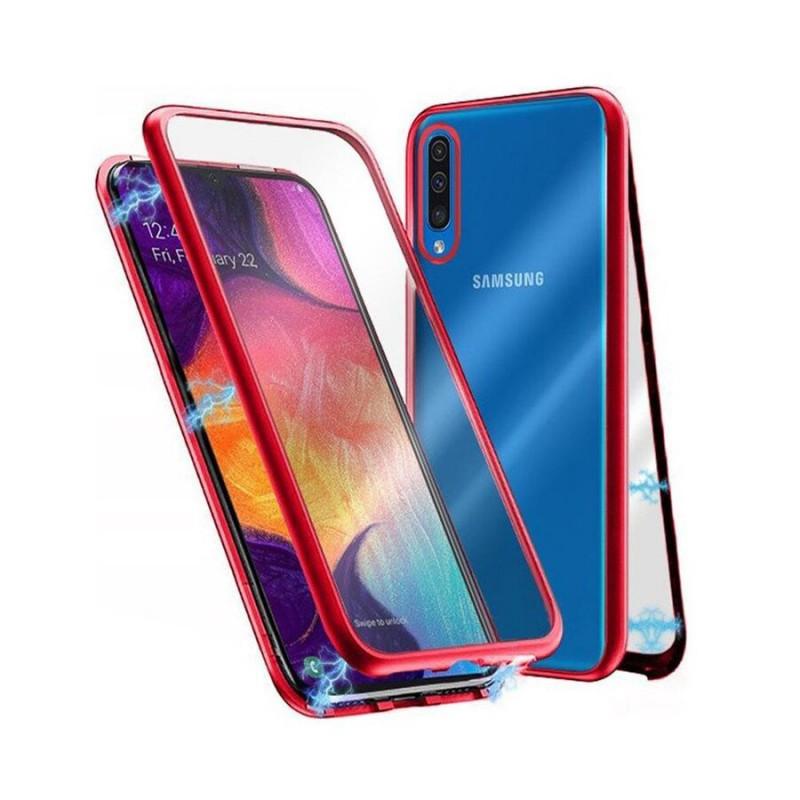 Гръб MAGNETO за Samsung A50 / A30s - Червен...