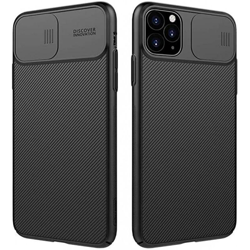 Гръб Nillkin Camshield pro за Apple Iphone 12 /12 Pro - Черен