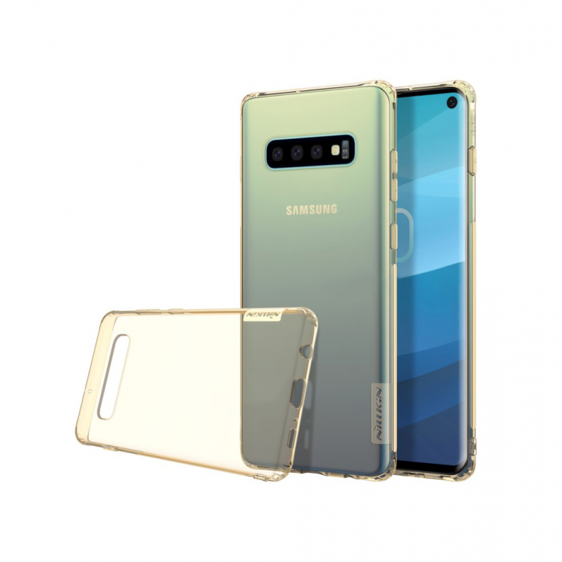 Гръб Nillkin Nature за Samsung Galaxy S10 Златен...