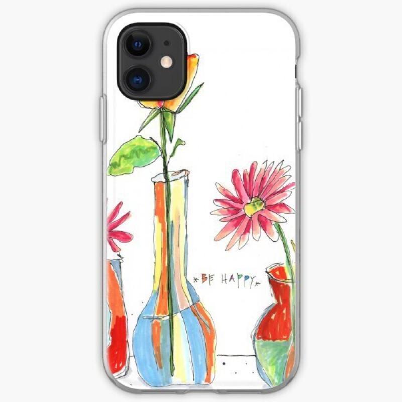 Гръб Spring за Apple Iphone 11 Pro - Flowers12...