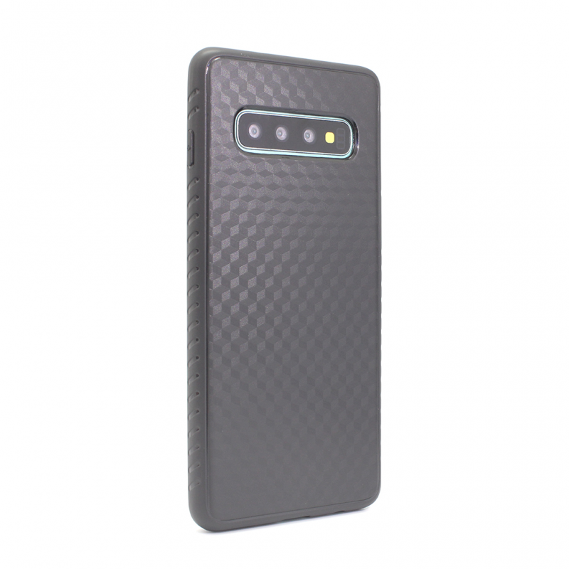 Гръб Teracell Plaid за Samsung G973 S10 - Черен...
