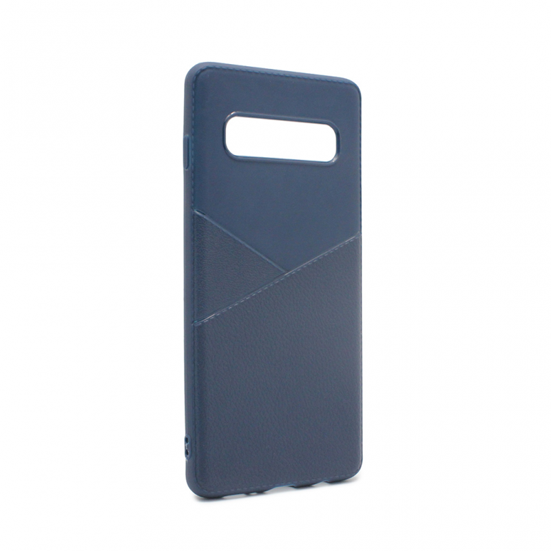 Гръб Teracell Y-Leather за Samsung G973 S10 - Син...
