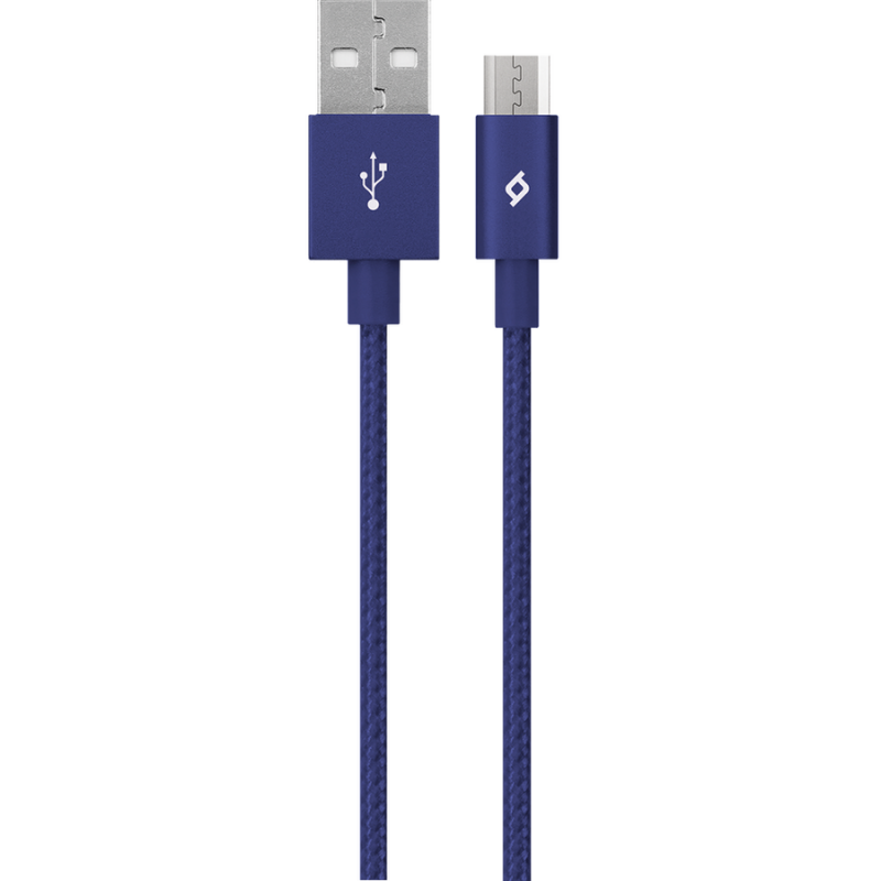 Кабел AlumiCable Micro USB Charge/Data Cable, Син,...