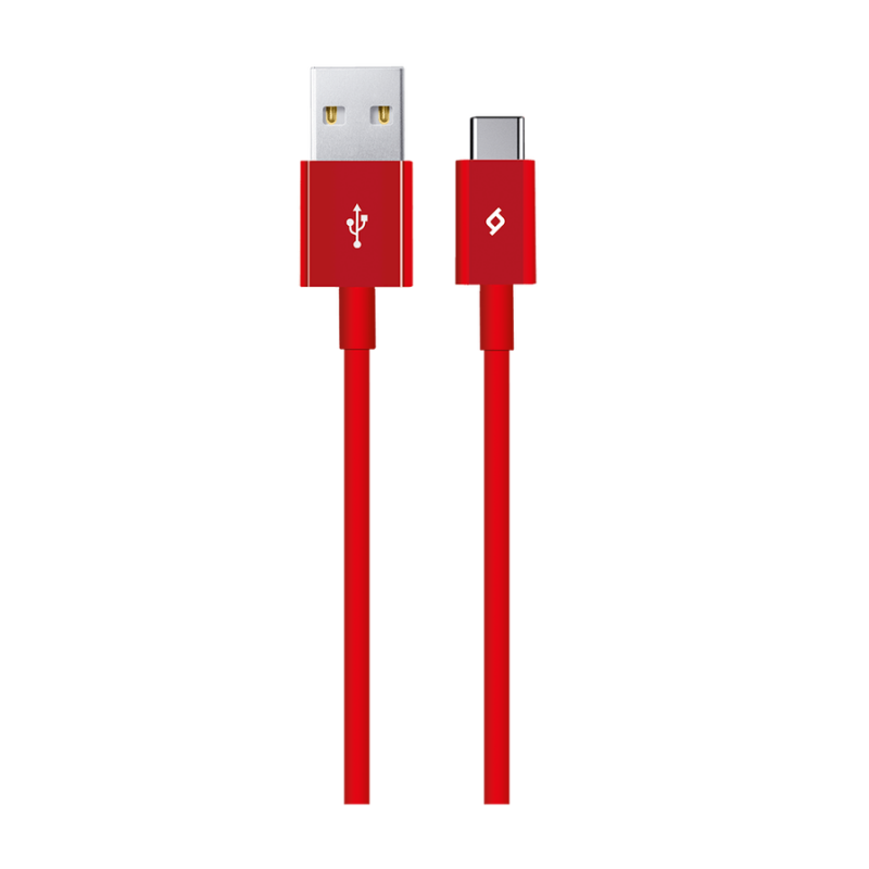 Кабел AlumiCable Type C 2.0 Charge/Data Cable - Че...