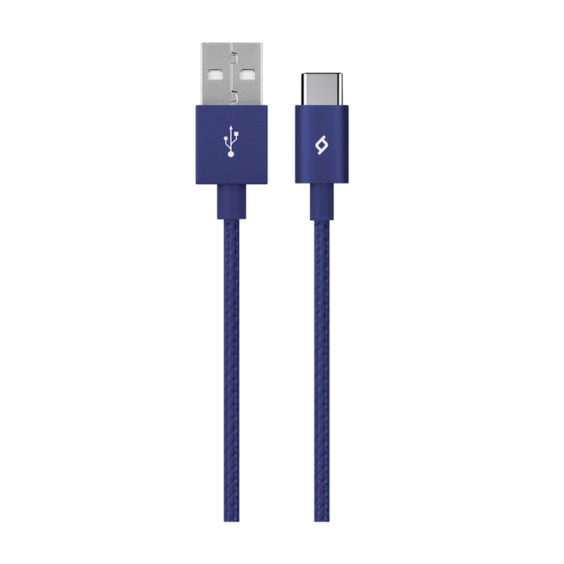 Кабел AlumiCable Type C 2.0 Charge/Data Cable - Си...
