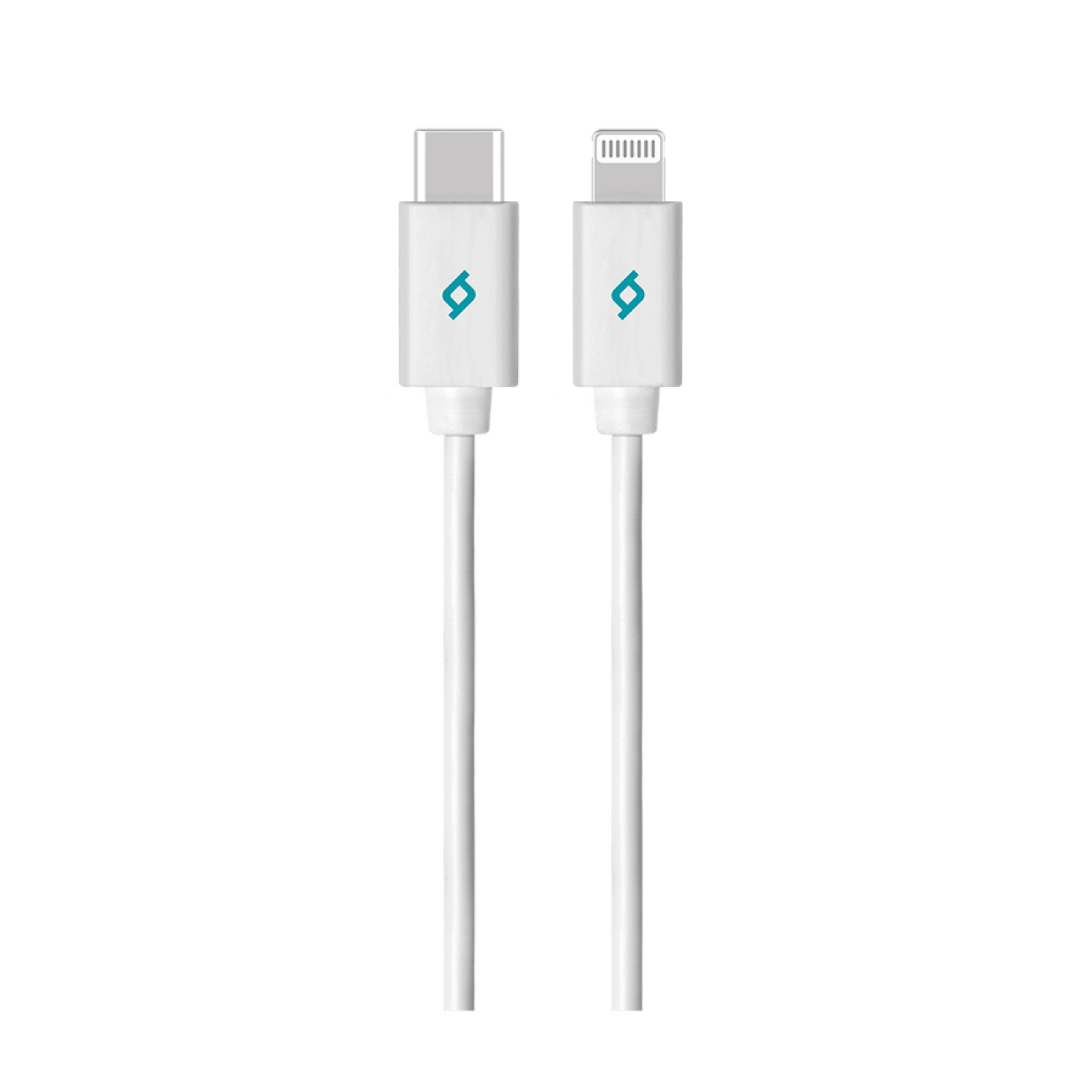 Кабел MFI Lightning - Type C Charge / Data Cable , 150cm - Бял, 117795