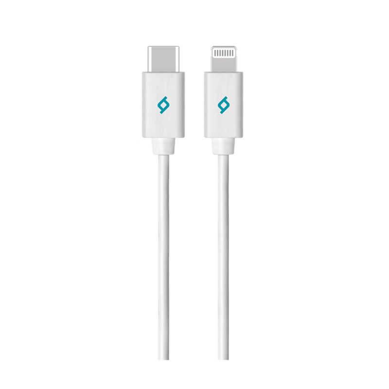 Кабел MFI Lightning - Type C Charge / Data Cable ,...