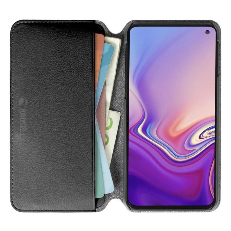 Калъф Krusell Pixbo 4 Card SlimWallet за Samsung G...