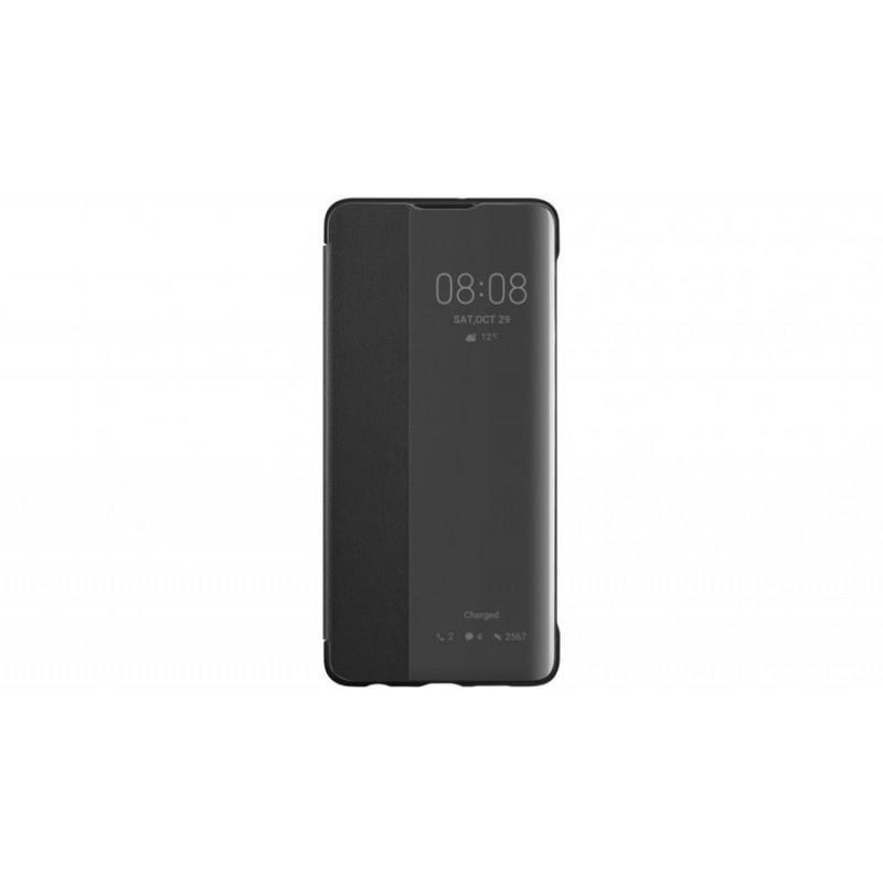 Калъф Original Flip View Cover за Huawei P30 - Чер...