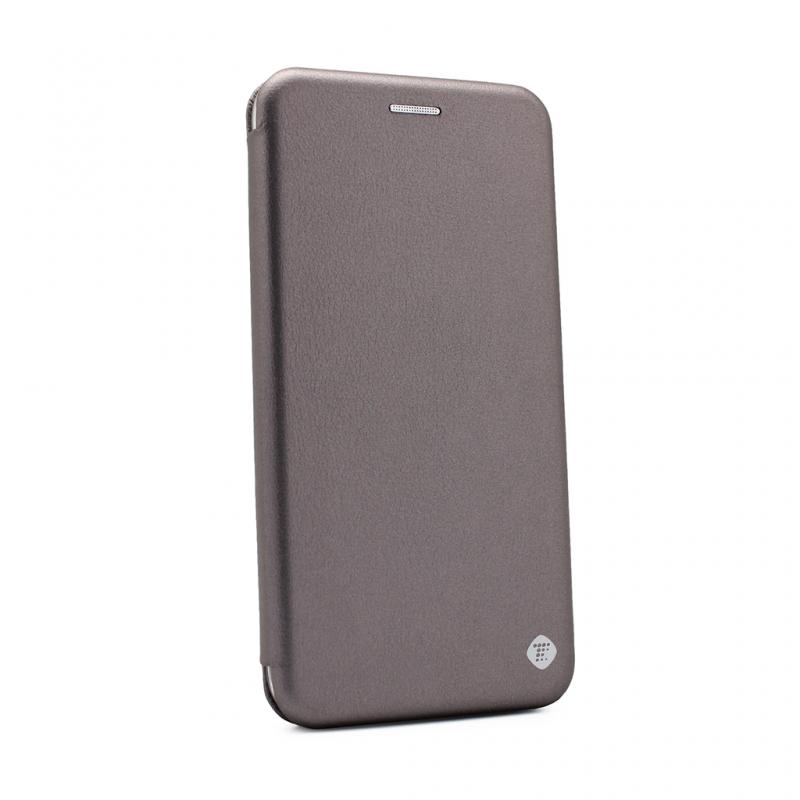 Калъф Teracell Flip Cover за iPhone 11 6.1 - Сребр...