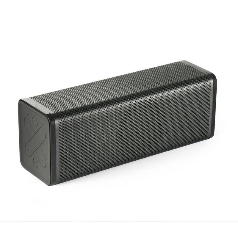 Колонка TUBE - bluetooth / mikrofon / radio FM / karta SD / AUX / USB, черна