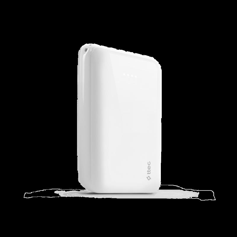 Външна батерия ReCharger 10.000mAh Universal Mobile Charger - Бяла,116884