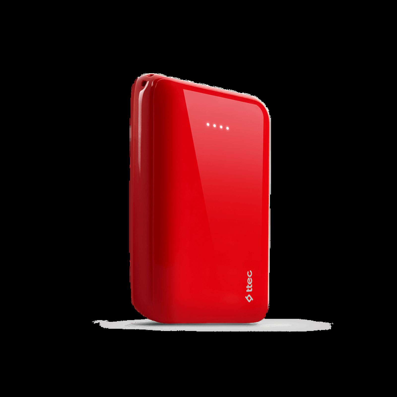 Външна батерия ReCharger 10.000mAh Universal Mobile Charger - Червена