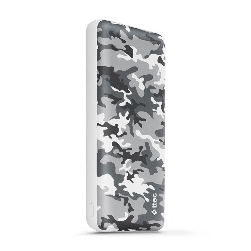 Външна батерия ReCharger 20.000mAh Universal Mobile Charger - White Camouflage, 118126