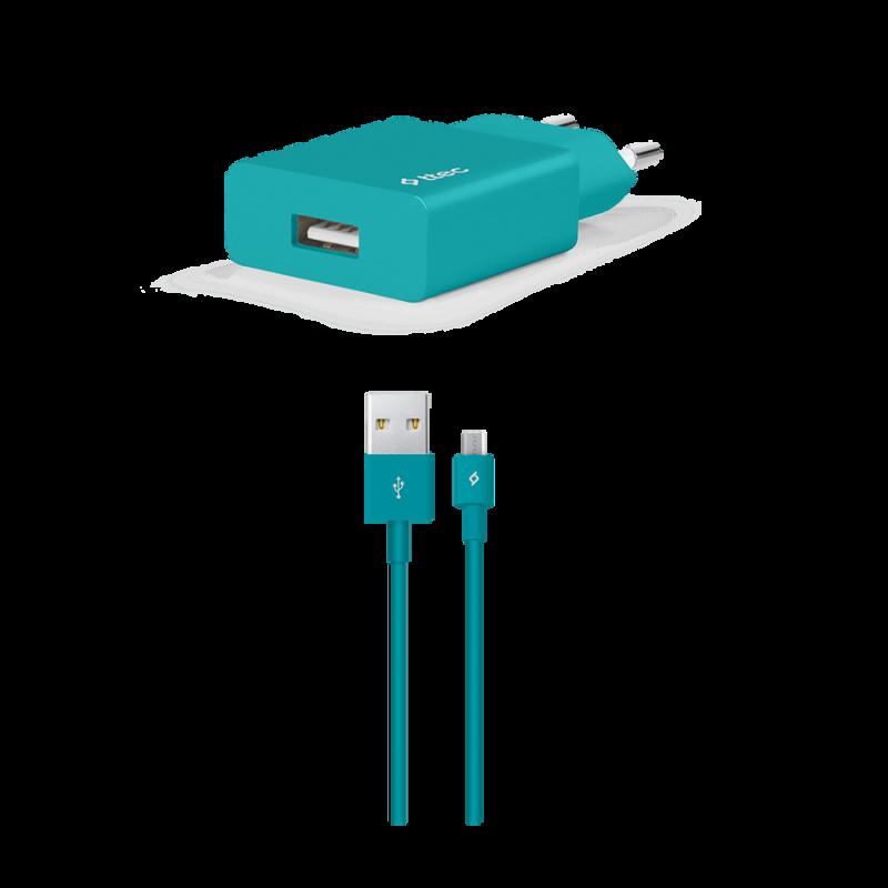 Зарядно 220V SmartCharger USB Travel Charger, 2,1A...