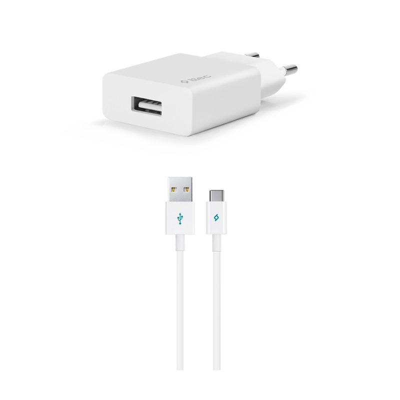 Зарядно 220V SmartCharger USB Travel Charger, 2.1A...