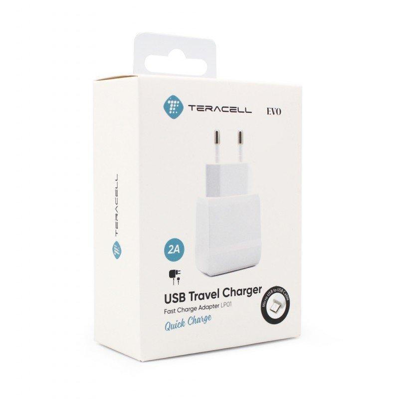 Зарядно 220V Teracell Ultra LP02 2A с iPhone 6/6S ...