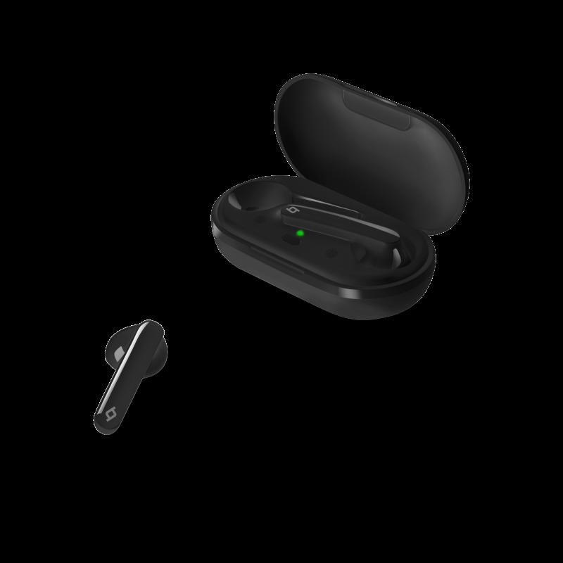 Bluetooth слушалки ttec AirBeat Free True Wireless Headsets - Черни