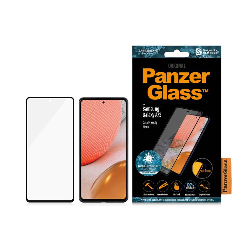 Стъклен протектор PanzerGlass за Samsung A72  Case...