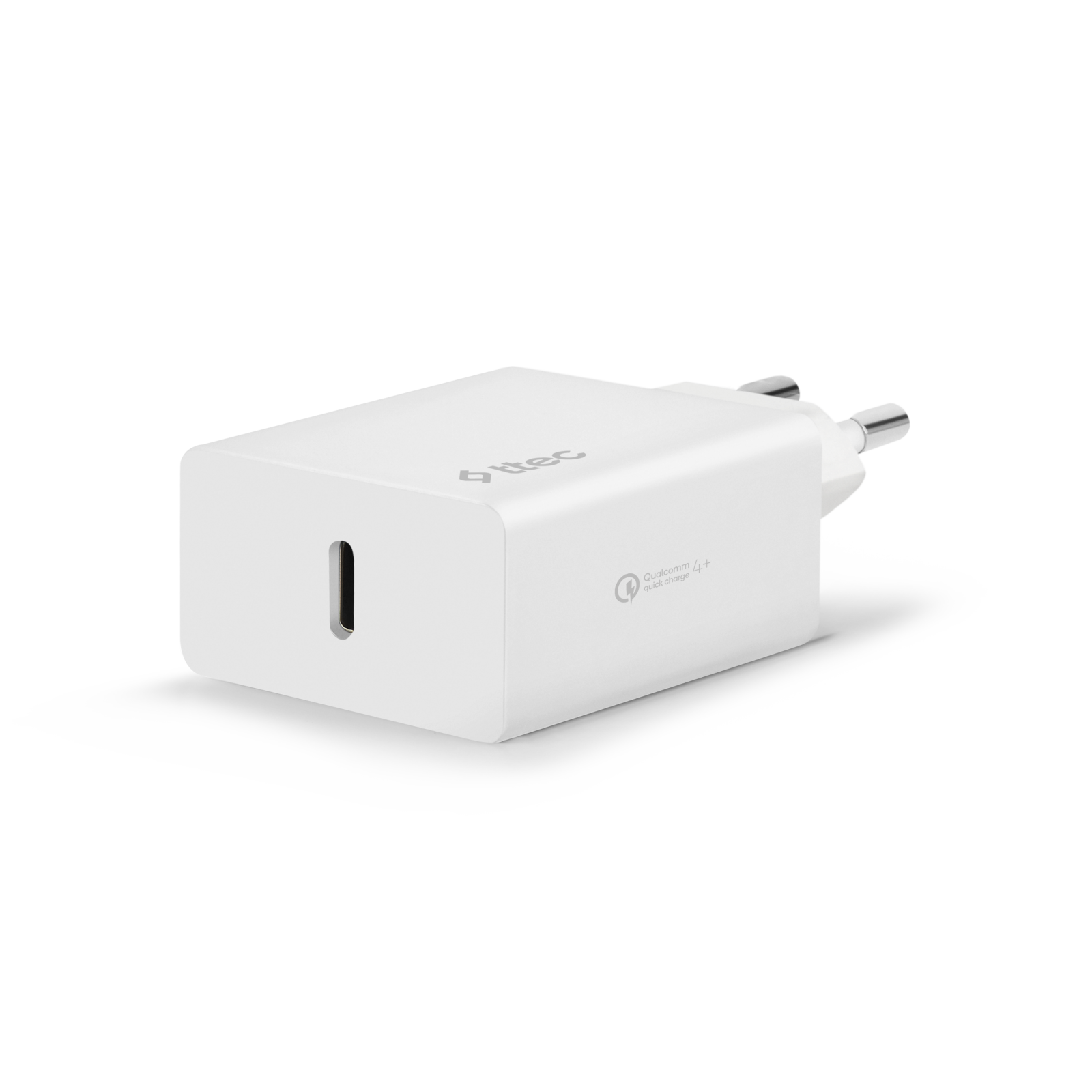 Адаптер ttec SmartCharger PD Travel Charger , 18W - Бял