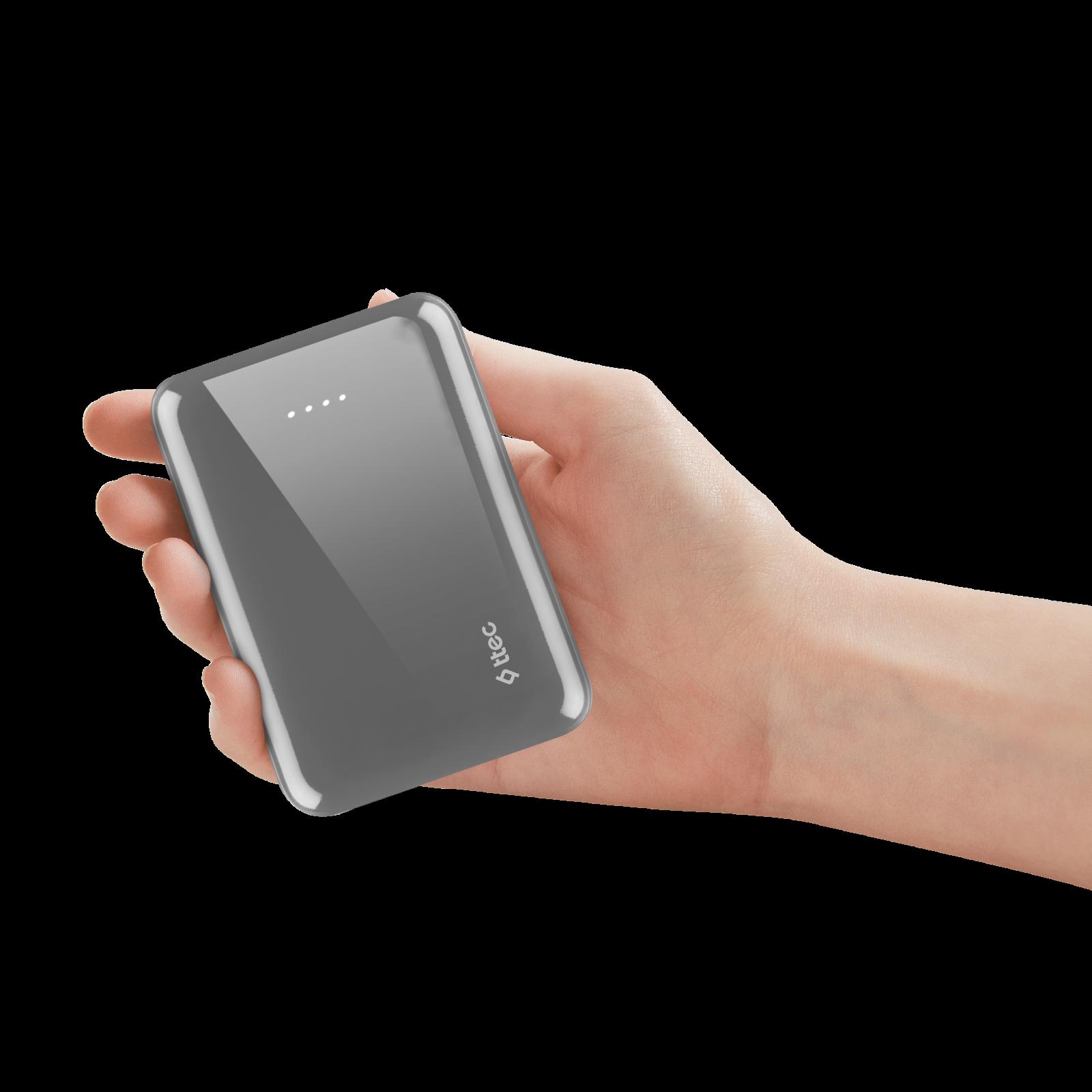 Външна батерия ttec ReCharger 10.000mAh Universal Mobile Charger - Сива