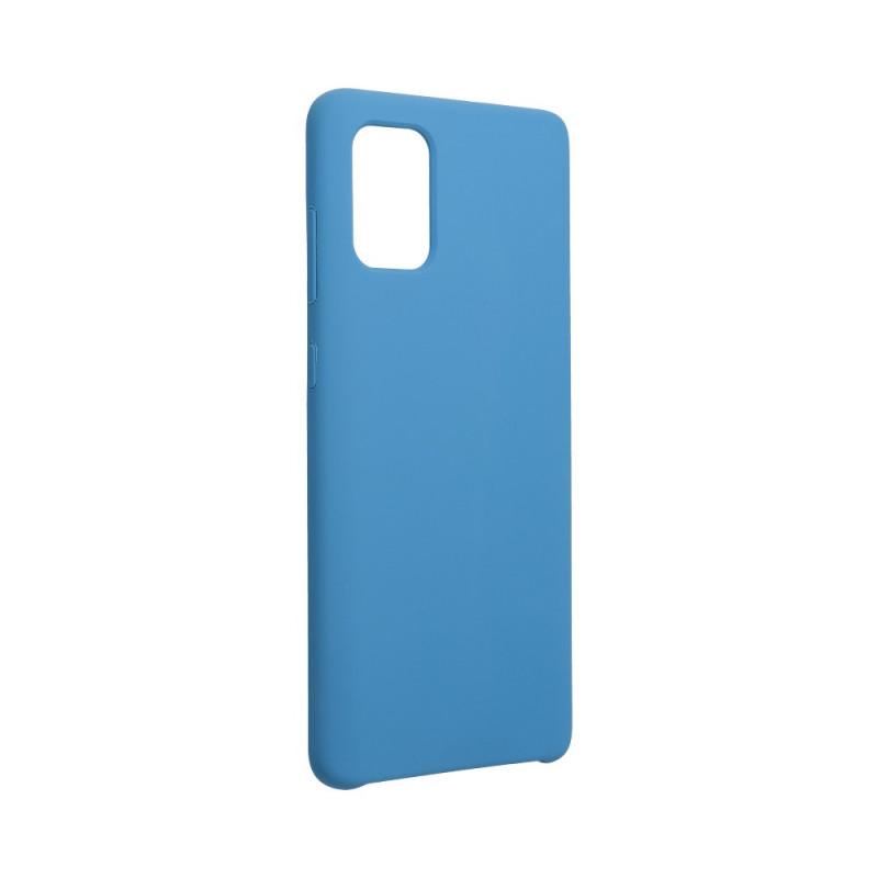 Гръб Forcell Silicone за Samsung Galaxy A72 - Тъмн...