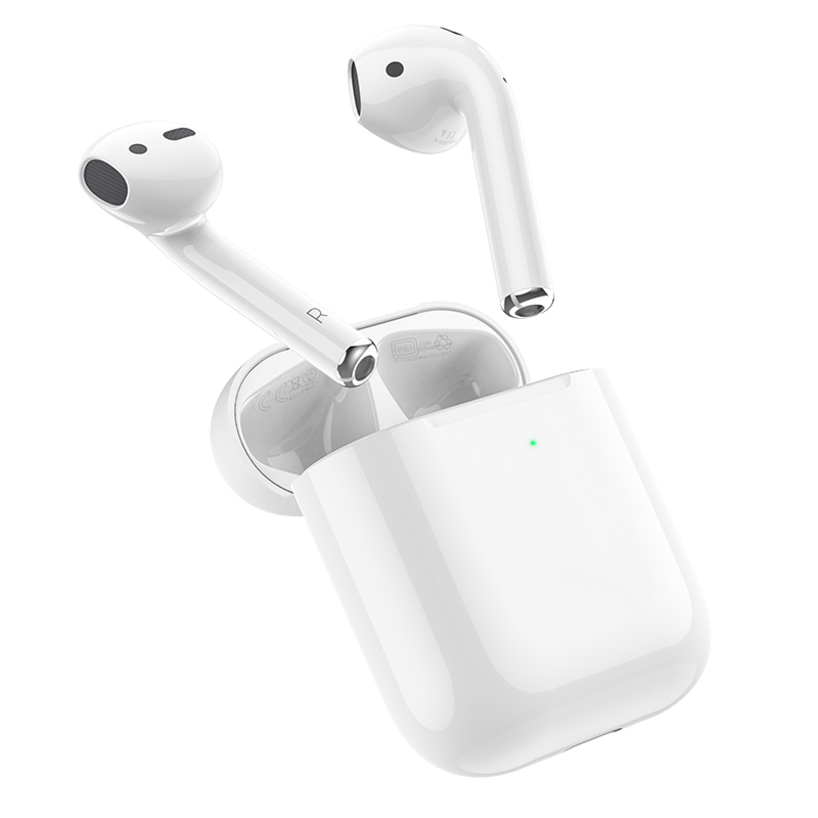 Bluetooth слушалки Hoco EW02 Original series true wireless BT headset - Бели