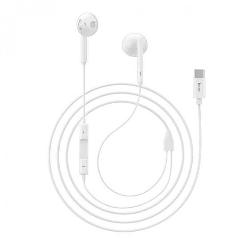 Слушалки L10 Acoustic Type-C - Бели