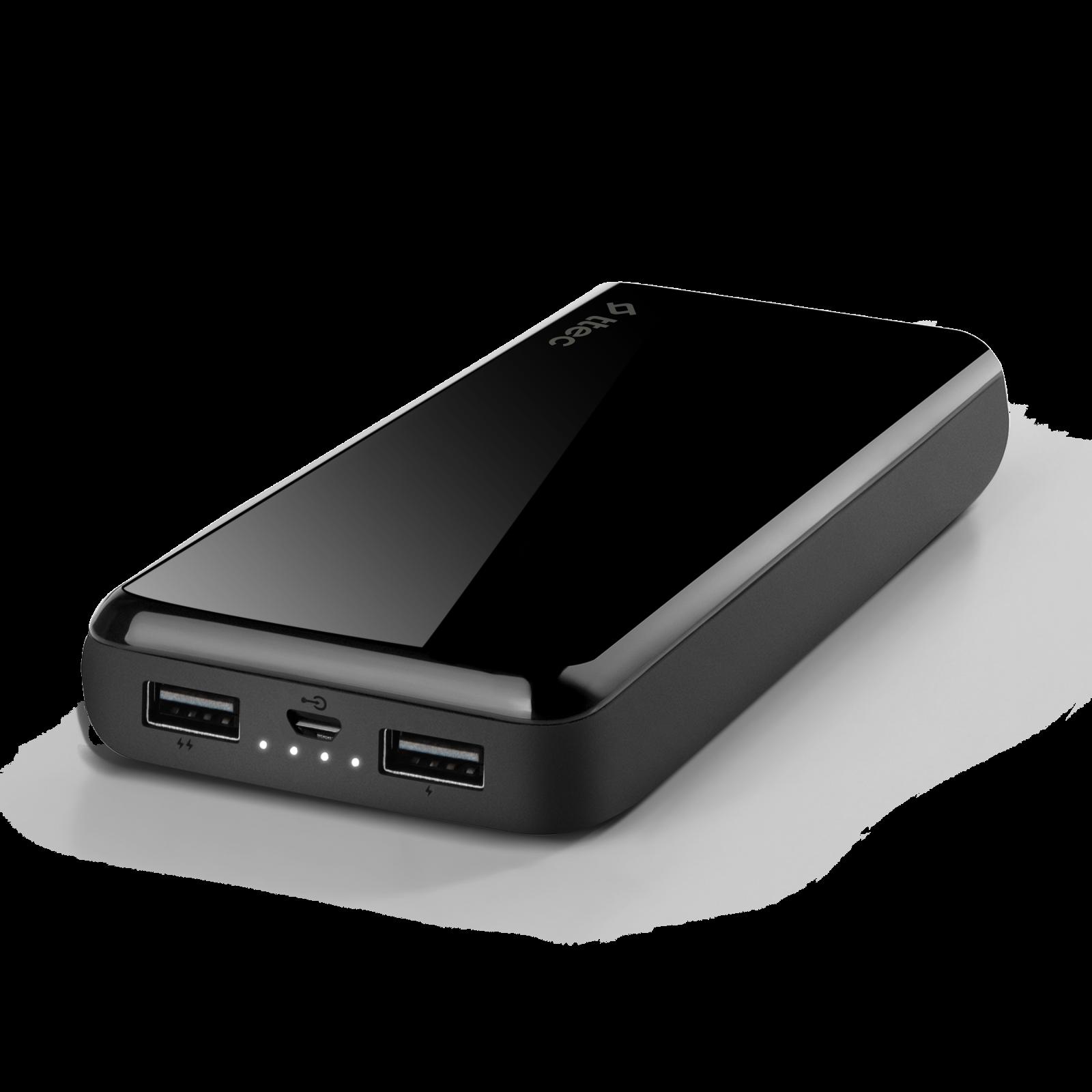 Външна батерия ReCharger Universal Mobile Charger 20.000mAh - Черна,116252