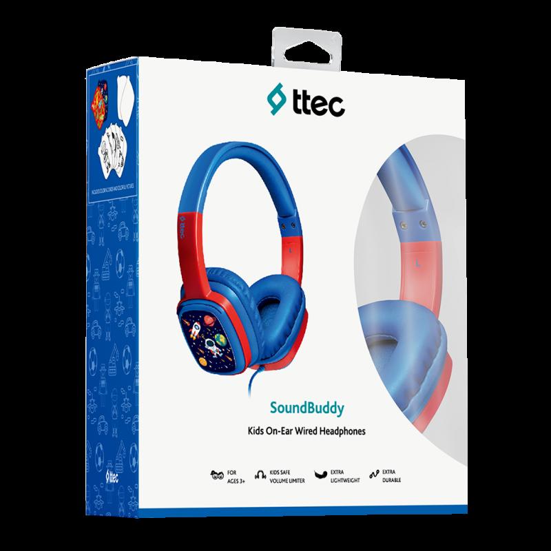 Слушалки ttec SoundBuddy Kids On-Ear Wired Headpho...