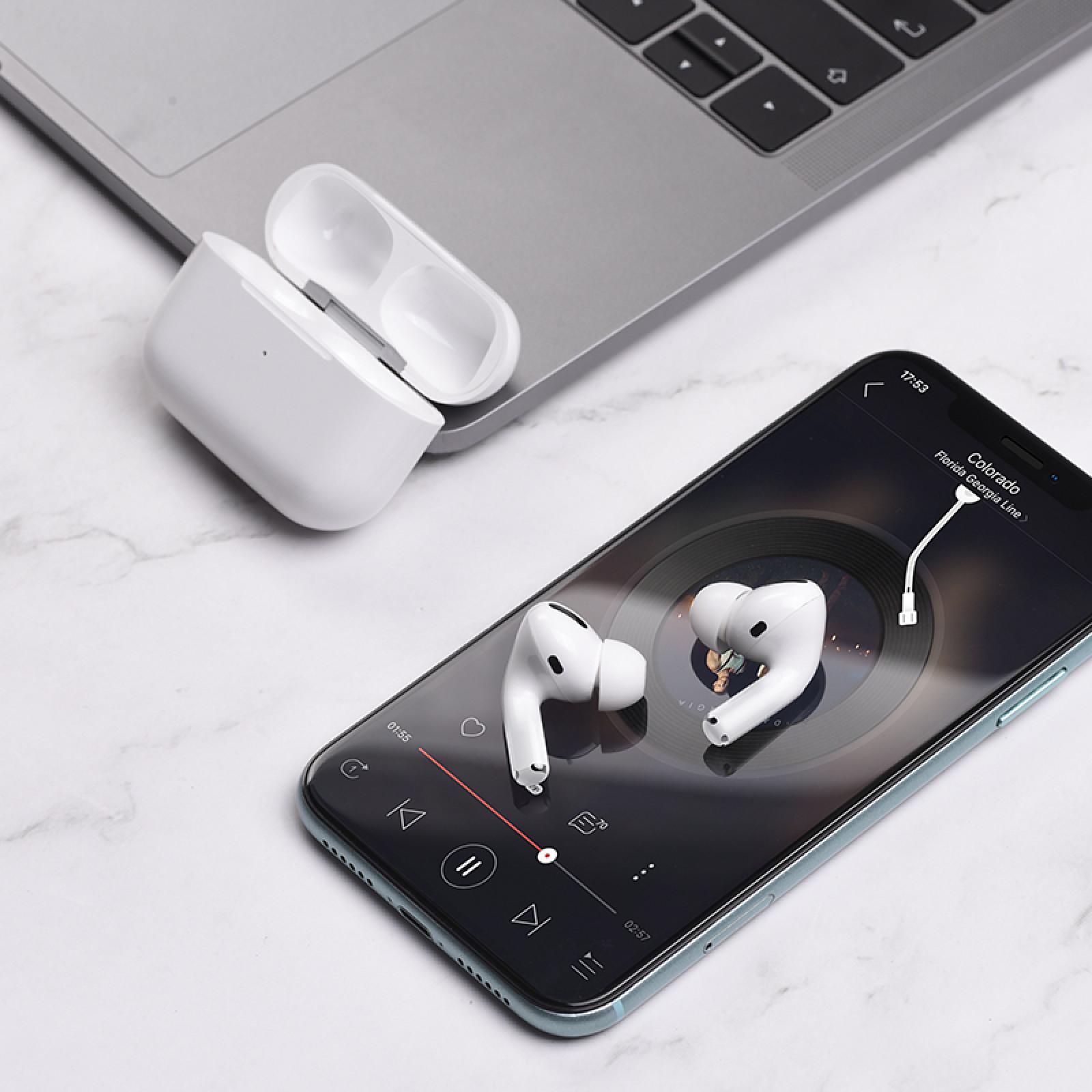 Bluetooth слушалки Hoco EW04 Original series true wireless BT headset - Бели