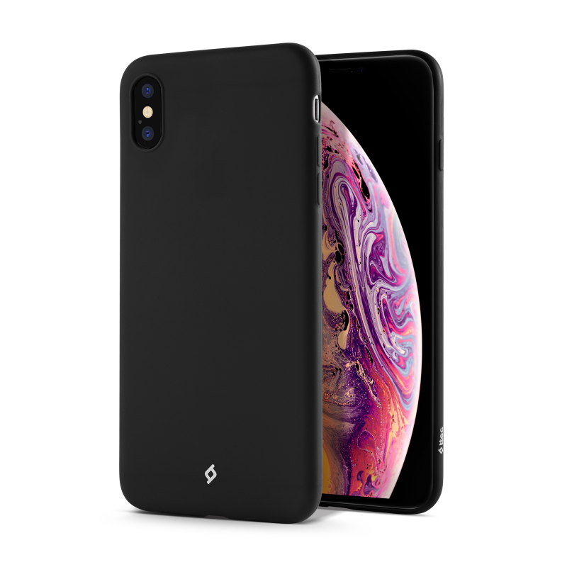 Гръб ttec Smooth Air за iPhone X/XS - Черен, 11699...