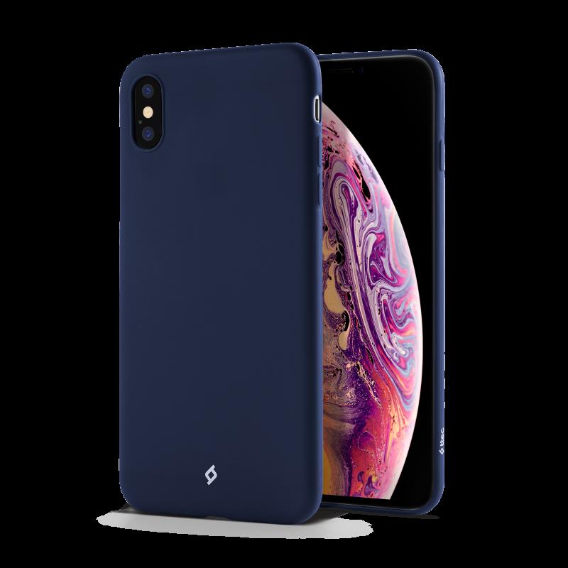 Гръб ttec Smooth Air за iPhone X/XS - Син,116994...