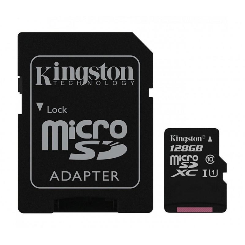 Мемори карта Kingston Ultra SDCS/128GBSP с адаптер...