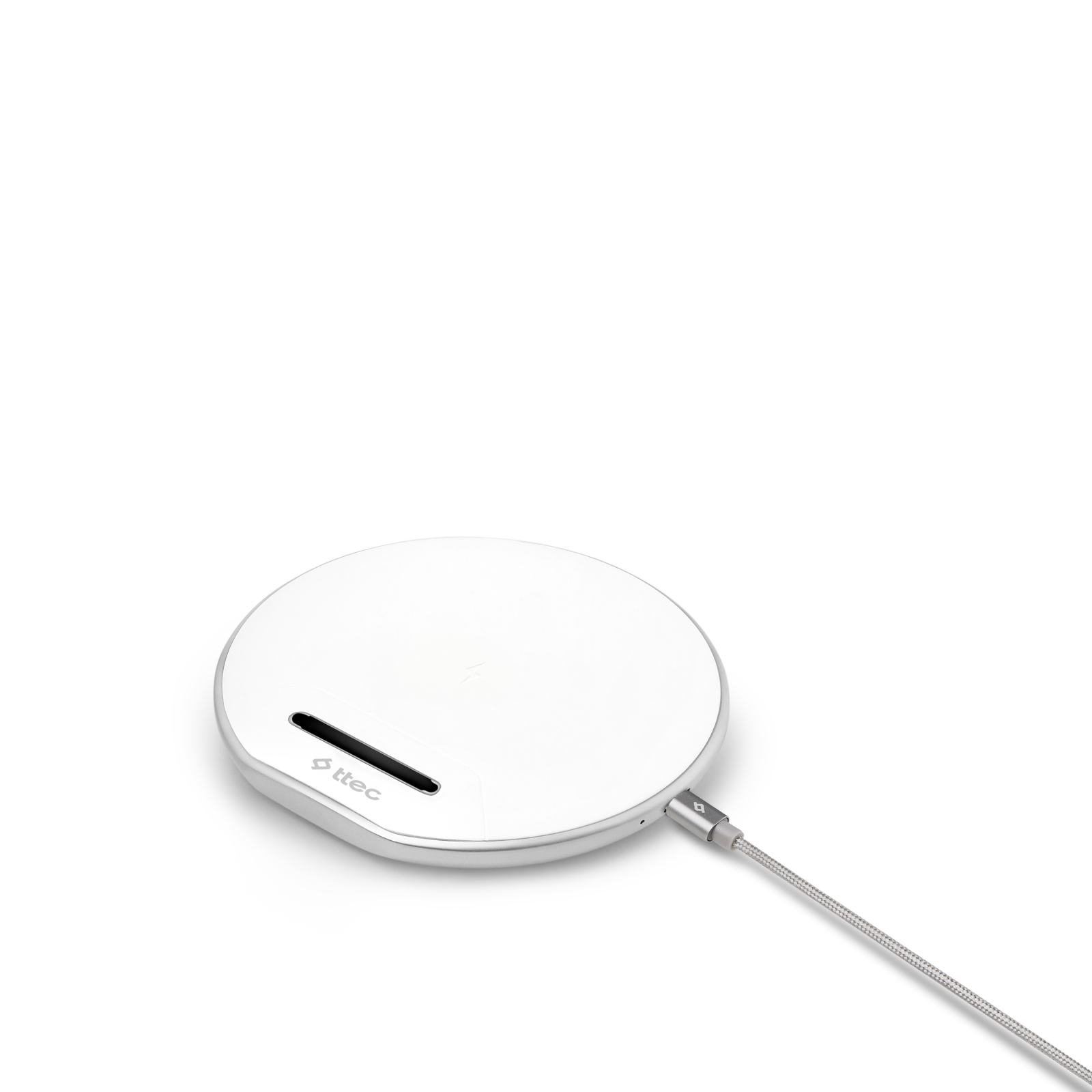 Безжично зарядно Air Charger  Wireless Charger - Бяло