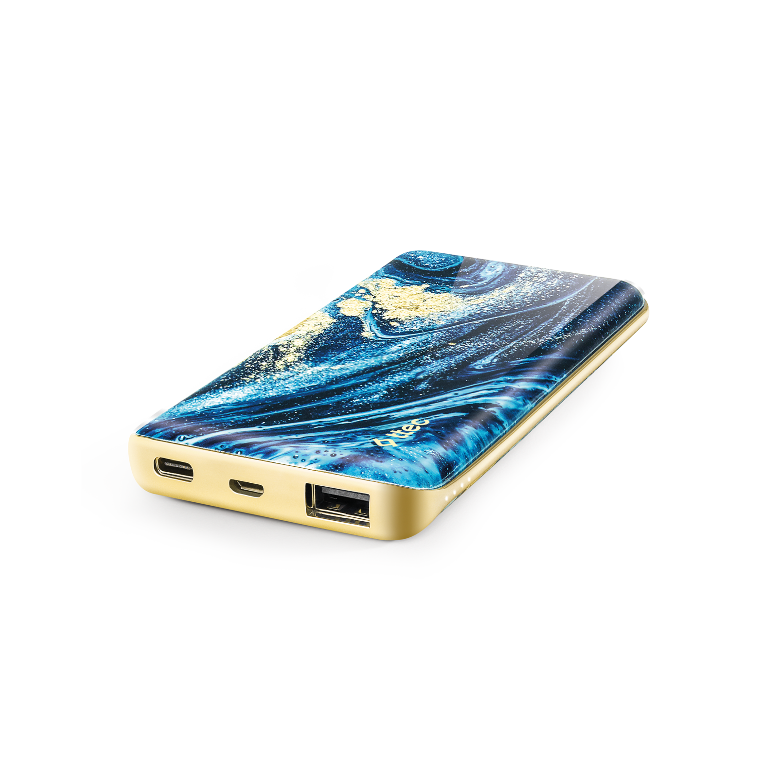 Външна батерия ArtPower Universal Mobile Charger 8.000 mAh,  Blue Marble,116269