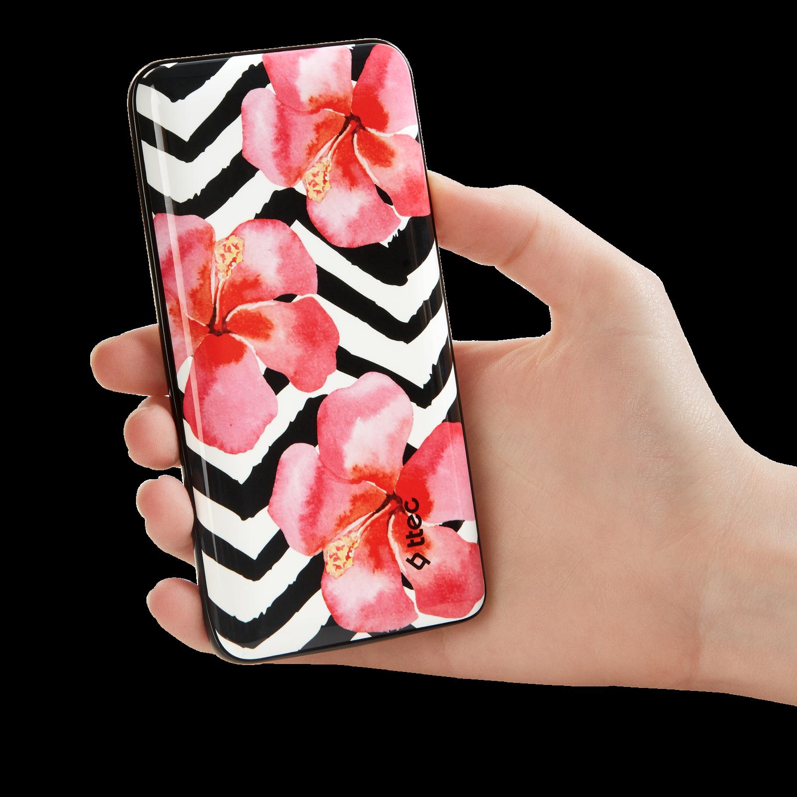 Външна батерия ArtPower Universal Mobile Charger 8.000 mAh, Orchid,116268