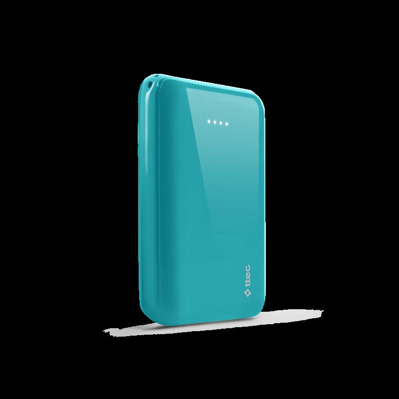 Външна батерия ReCharger S 10.000mAh Universal Mobile Charger - Тюркоаз