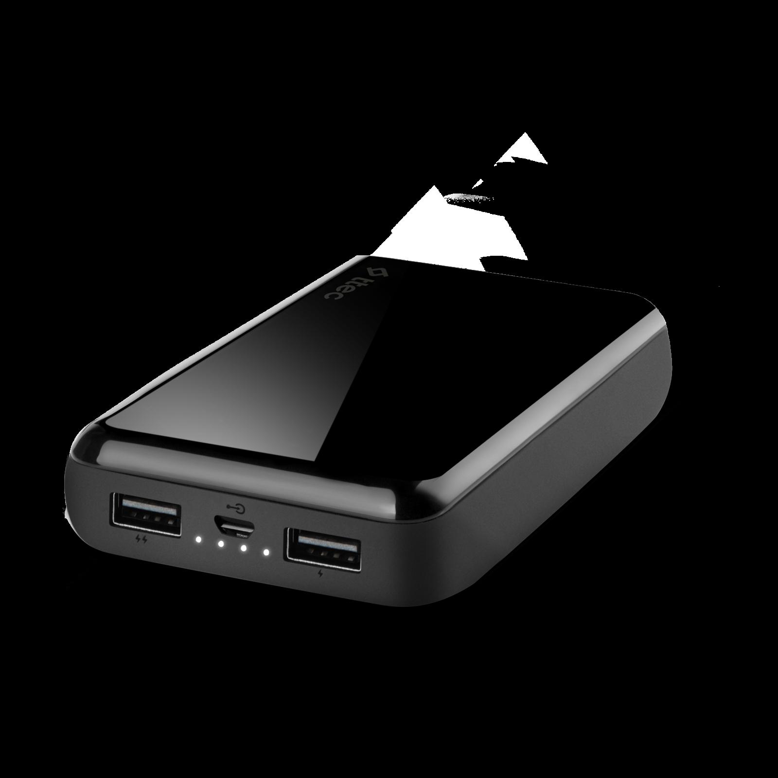 Външна батерия ReCharger 10.000mAh Universal Mobile Charger - Черна,116250