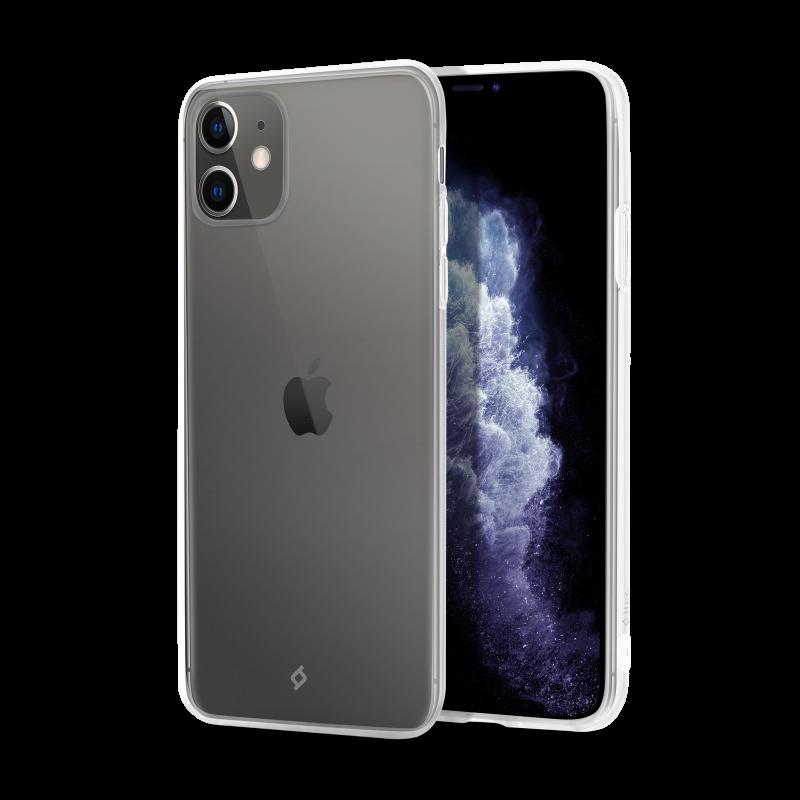 Гръб ttec SuperSlim за iPhone 11 - Прозрачен,11655...