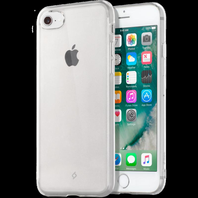 Гръб ttec SuperSlim за iPhone 7/8 - Прозрачен, 115...