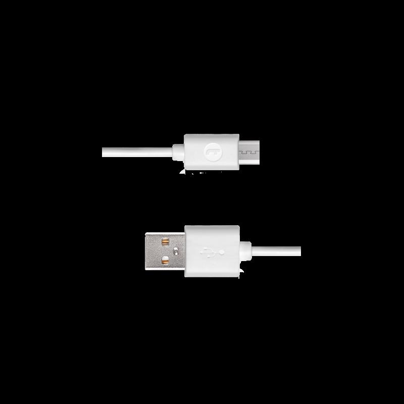 Кабел Mojue Micro USB Cable -  Бял