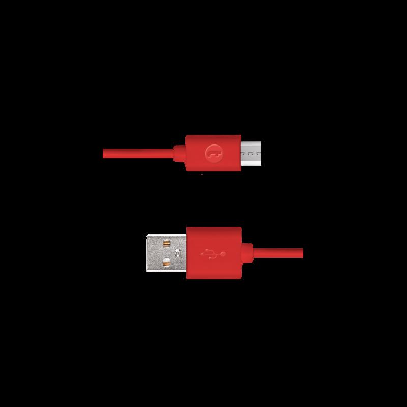 Кабел Mojue Micro USB Cable -  Червен
